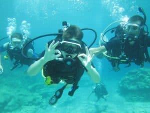 Double Ok Discover Scuba Poseidon Divers