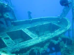 Lifeboat On Zenobia Wreck