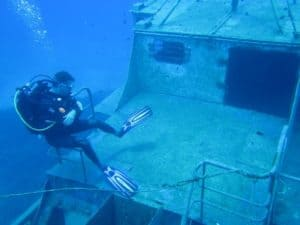 Nemesis Wreck Protaras Cyprus