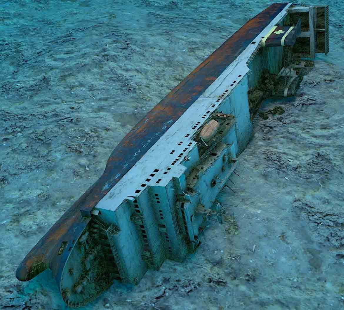 Dive the Zenobia wreck in Cyprus with Poseidon